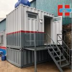 Container toilet 10ft 16