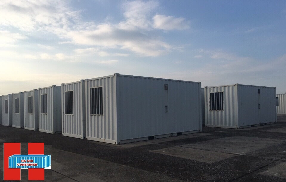 container kho 20 feet theo thiết kế