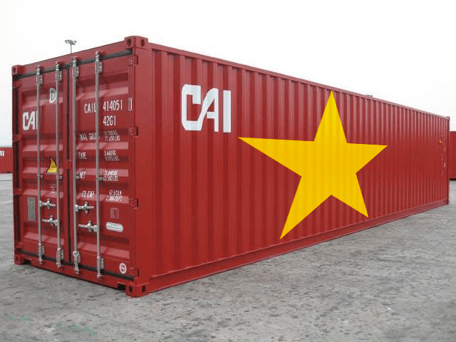 container rỗng 40 feet