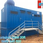 Container toilet 20ft 14