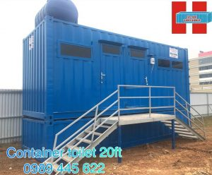 container toilet 20ft