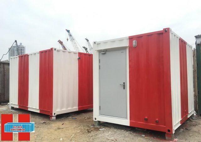 container làm cabin điều khiển