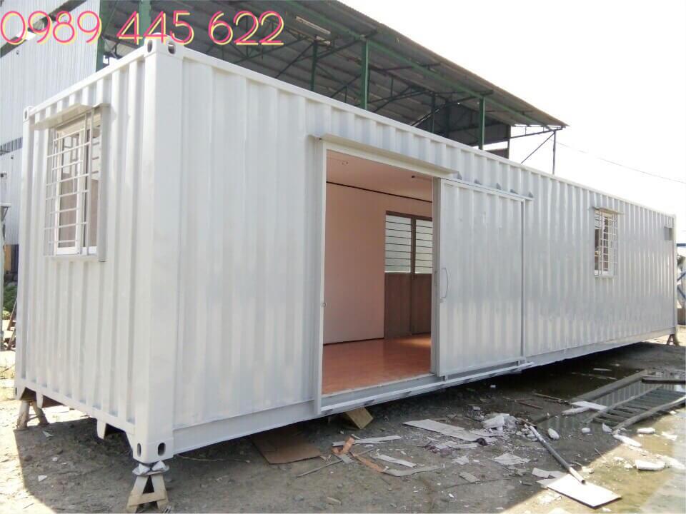 container văn phòng cửa trượt 40ft