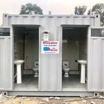 Container toilet 10ft 15