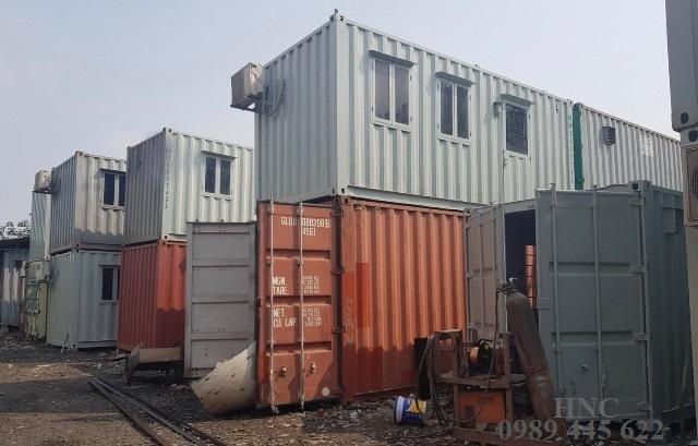 Bán container văn phòng cũ tại Hà Nội, Bắc Ninh, Lạng Sơn