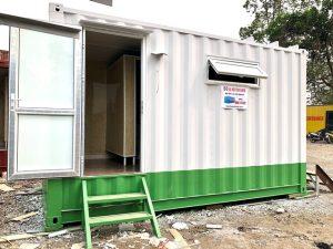 container vệ sinh có bể phốt 20 feet