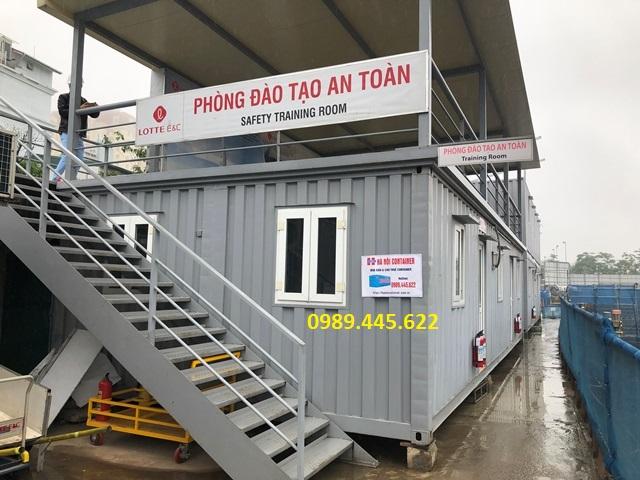 Cho thuê container kho chứa vật liệt, làm văn phòng tại công trình