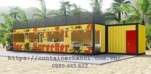 nhà hàng container