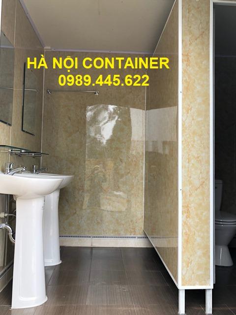 nhà vệ sinh container 20 feet