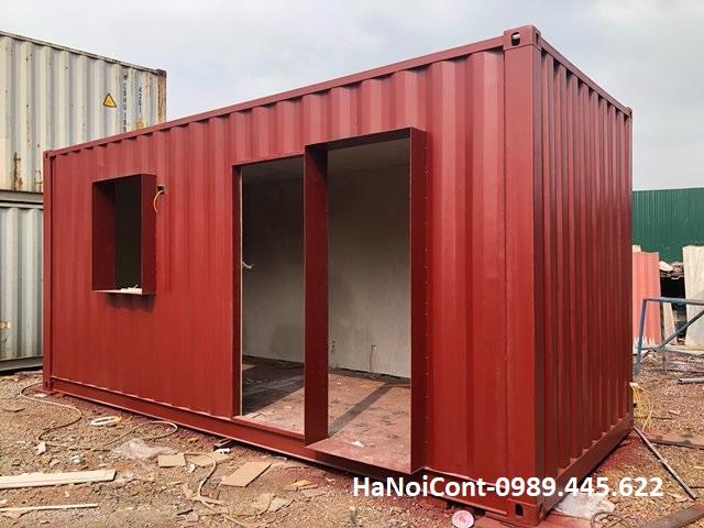 container cải tạo làm nhà