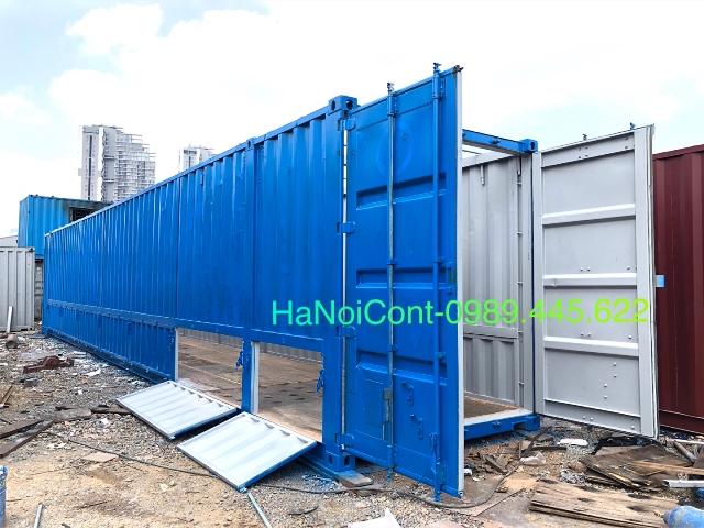 container kho mở nóc 50 feet