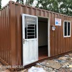 Container văn phòng có vệ sinh 20ft