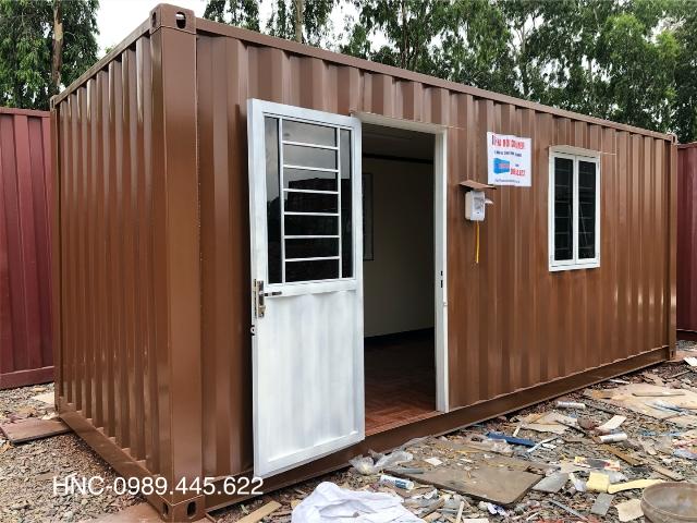 container văn phòng có vệ sinh 20feet