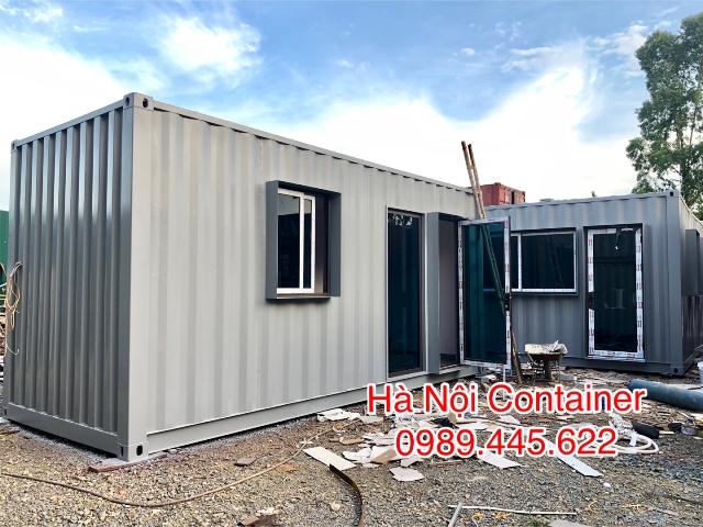 container văn phòng 20 feet thiết kế
